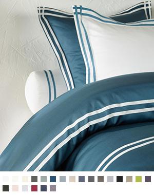ボルスターカバー【90cm×20cm 円柱形】全36色 エジプト綿(サテン織り・300TC) 【Corvus1018】