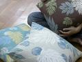 リネン 生地 リネン パンの実 クロス幅148cm(10cm単位)【麻】【手作り】【ハンドメイド】