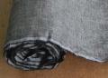 先染リネン 生地 ブラック クロス幅104cm(10cm単位)【麻】【手作り】【ハンドメイド】