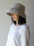 リネン 帽子