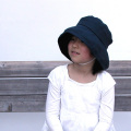 リネン帽子