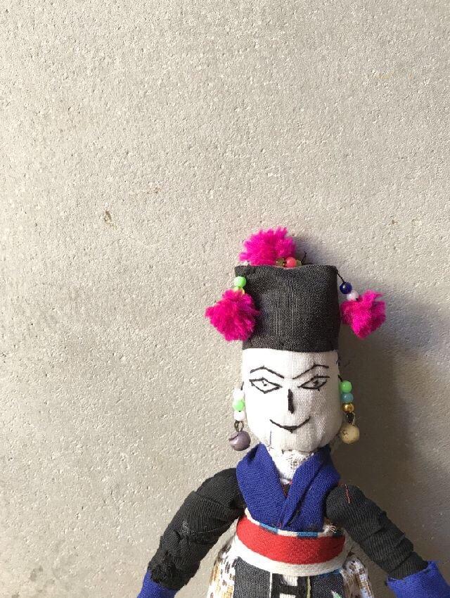 ラオスモン族人形A-3