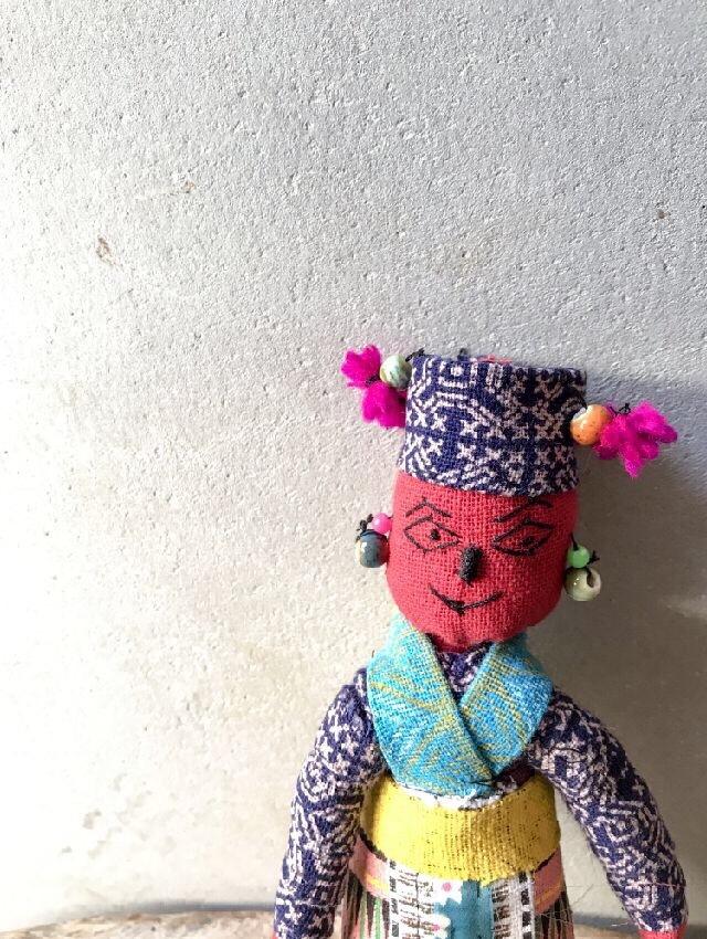 ラオスモン族人形C-3