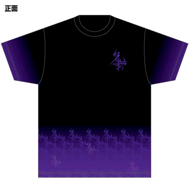 おーちゃんねる フルプリントTシャツ パターンロゴ