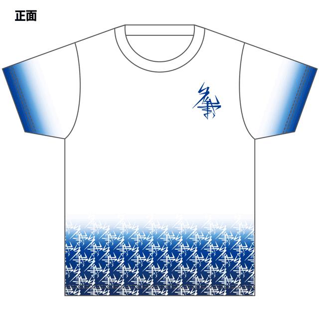 おーちゃんねる フルプリントTシャツ パターンロゴ キッズ