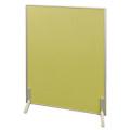 アルミ枠生地張りつい立 グリーン H1050×W900×厚24