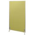 アルミ枠生地張りつい立 グリーン H1500×W1000×厚24