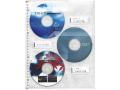 147-36 CD・DVDポケット CD-PT3 両面ポケット5枚パック (Just Motto)