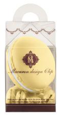 マカロンデザインクリップ ケースクリップセット レモン MC-12(RE)