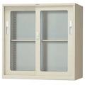 デ−タファイル保管庫 ガラス引戸型 上置き専用 DF−33GN