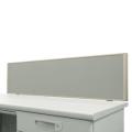 デスクトップパネル グレー H350×W1400 クランプ厚み33ミリ以下対応