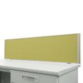 デスクトップパネル グリーン H350×W1200 クランプ厚み33ミリ以下対応