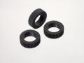 紙折機給紙ゴムローラーセットLF-R1N(本体型番末尾N用ゴムローラー3個、セパレーター1個) 953-83