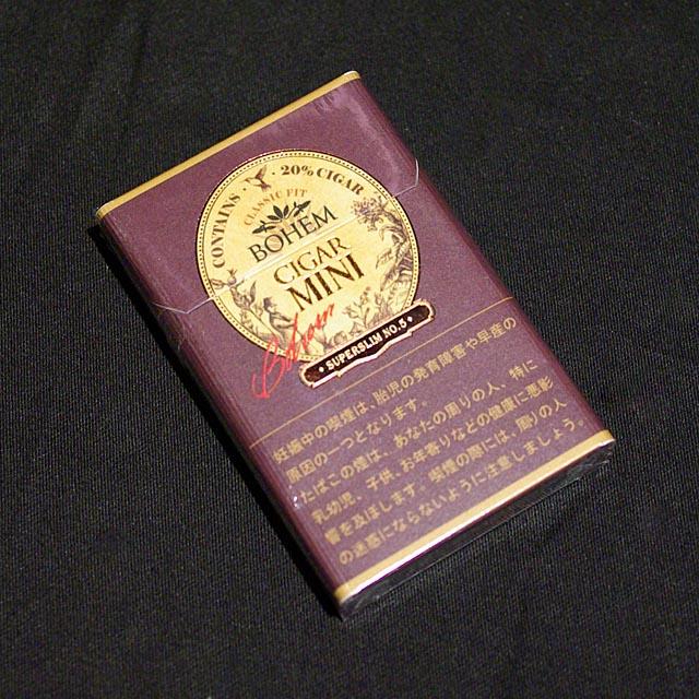 ボヘーム シガー ミニ スーパー スリム No.5 5mg[10805](110805)