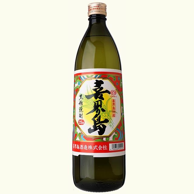黒糖焼酎 喜界島 25/900 [箱なし][10943](110943)