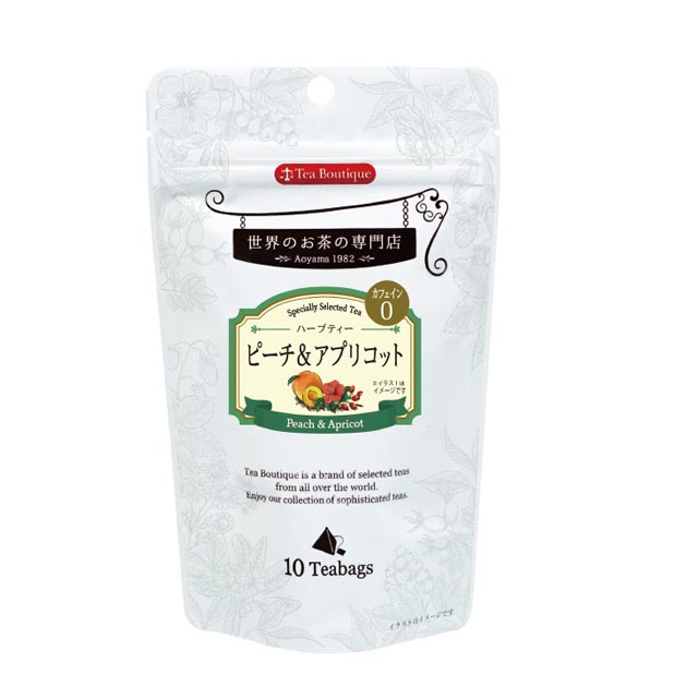 Tea Boutique ピーチ&アプリコット 10ティーバッグ [10308](117672)[賞味期限2023/03/01]