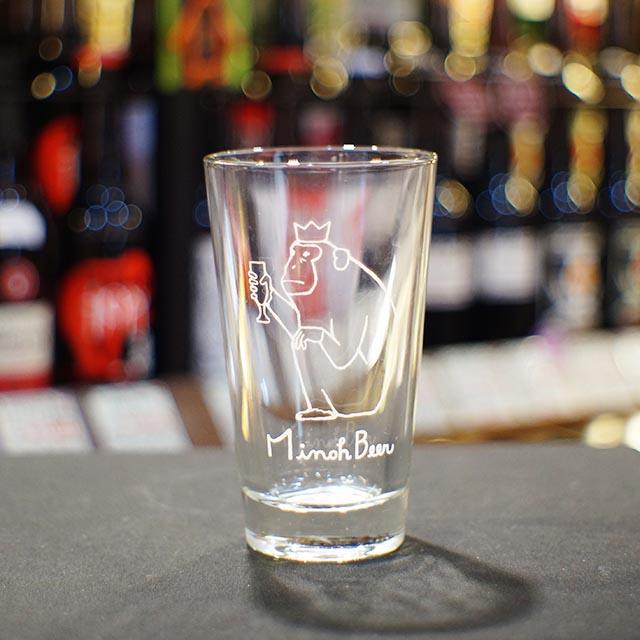 箕面ビール おさるグラス 大 420ml [12810](412810)