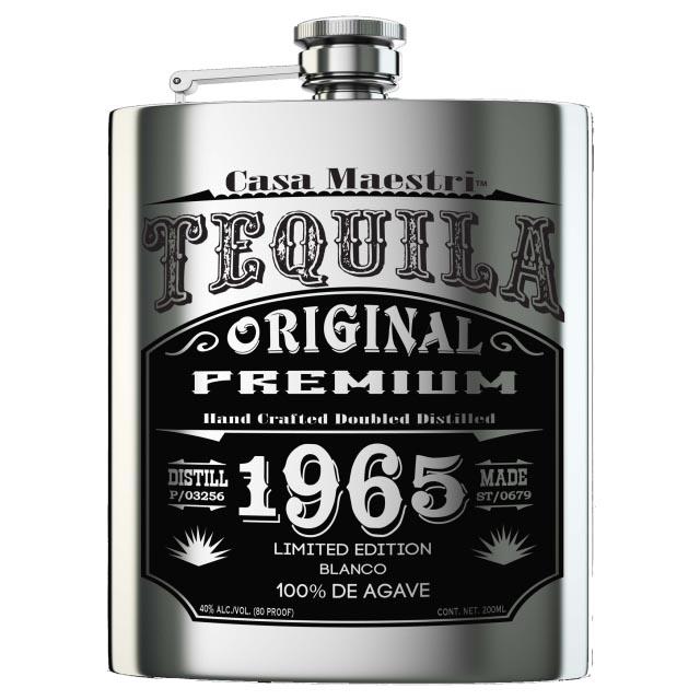 カサ マエストリ テキーラ ブランコ フラスクボトル 40/200 [138246][箱なし]