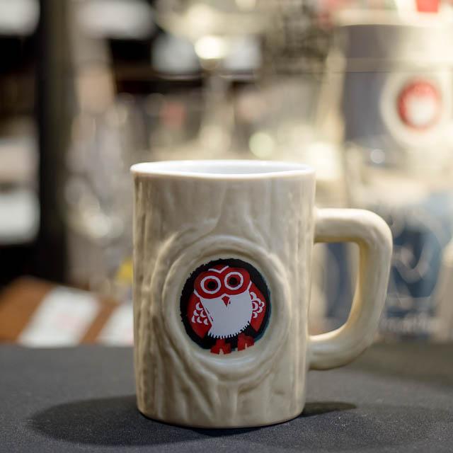 常陸野ネスト 陶器製マグカップ・クリーム 400ml [14343](214343)