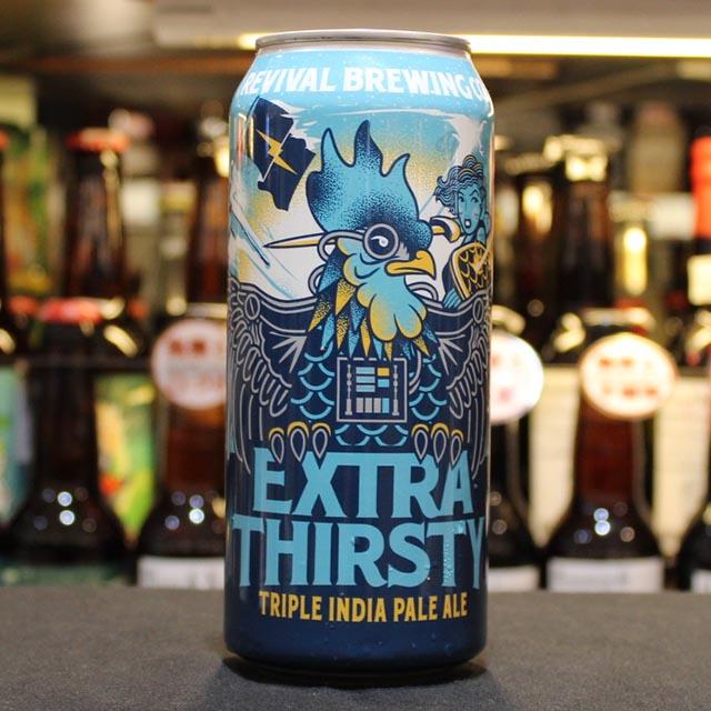 リバイバル・ブリューイング Extra Thirsty? トリプル・ニューイングランドIPA 10.5/473 [150469]