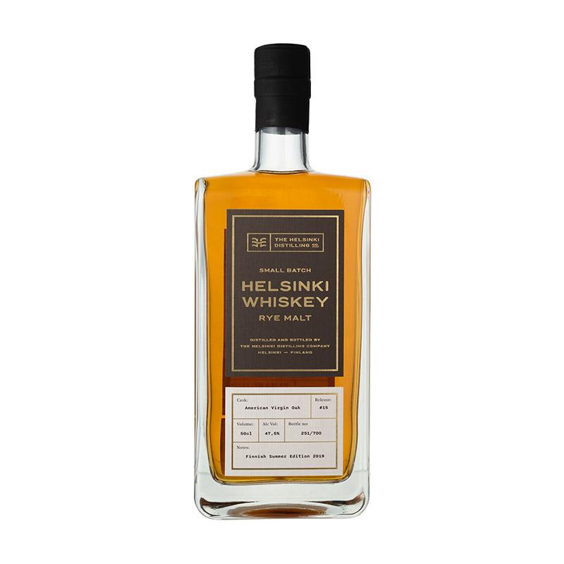 ヘルシンキ ウイスキー ライ モルト 4年 #15  47.5/500[154342][正規輸入][箱付]