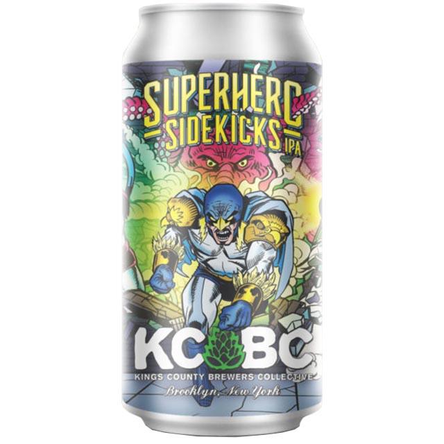 [154410]KCBC スーパーヒーローサイドキック ヘイジーIPA 6.9/473【要冷蔵】