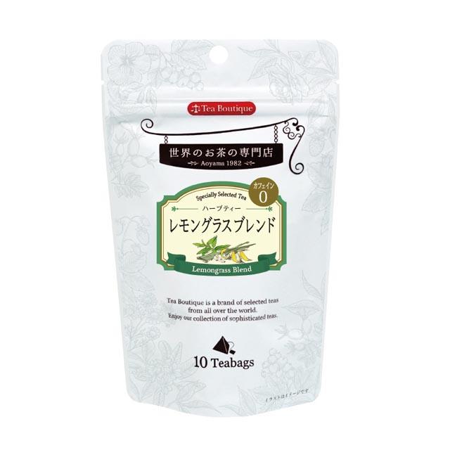 Tea Boutique レモングラスブレンド 10ティーバッグ [154786][賞味期限2023/03/01]