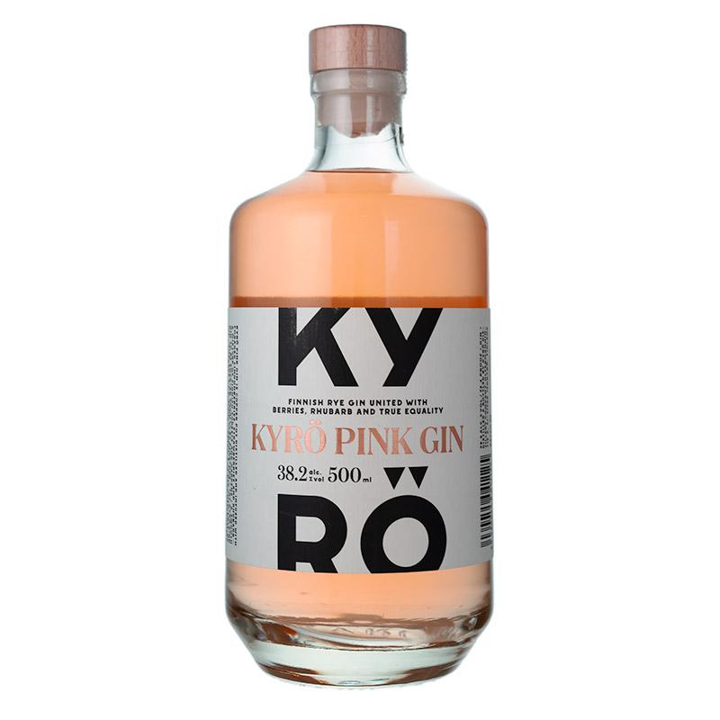 【KDC】【KYRO】 キュロ ピンク ジン  【キュロ ディスティラリー カンパニー】38.2/500[155291][正規輸入][箱なし]