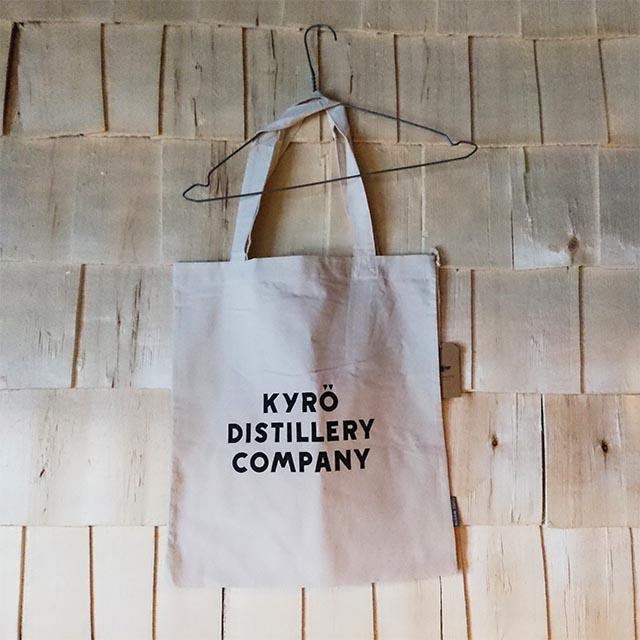 【KDC】【KYRO】  KDC ロゴ トートバッグ WHITE【キュロ ディスティラリー カンパニー】[40429](140429)
