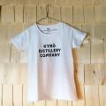 【KDC】【KYRO】  KDCロゴ Tシャツ WHITE 男性用 S・M・L・ XL 女性用 S・XS【キュロ ディスティラリー カンパニー】[40417](140417)