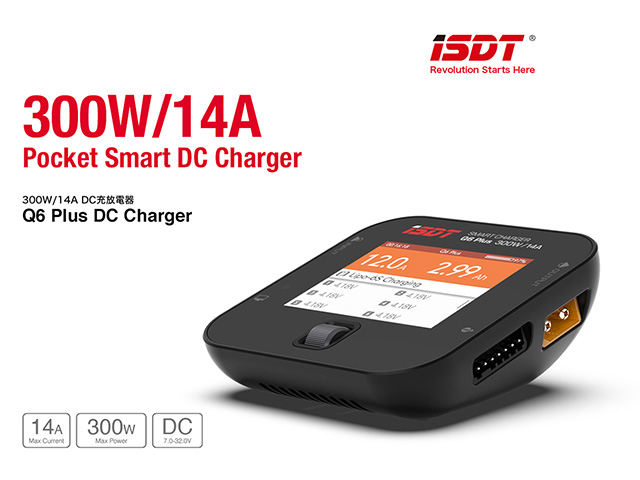G-FORCE 200W/14A DC充放電器 Q6 Plus DC Charger