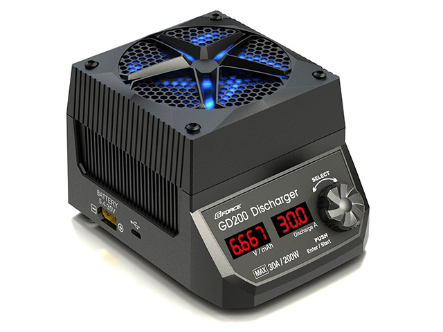 G-FORCE 30A/200W 放電器 GD200 Discharger