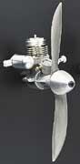 ★DU-BRO Norvell Aluminum Spin Prop Nut (DUBO3776)