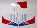 KATANA30Eブルー・スペア尾翼セット(エレベーター・ラダー)