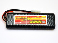 DINOGY ダイノジー リポバッテリー 7.4V4500mAh 30C タミヤコネクタ(DS-2S4500DHR)