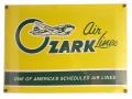 オザークエアライン・サインボード - Ozark Airline Sign