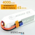 DUALSKY リポバッテリー 22.2V4000mAh 25C (XP40006ECO)