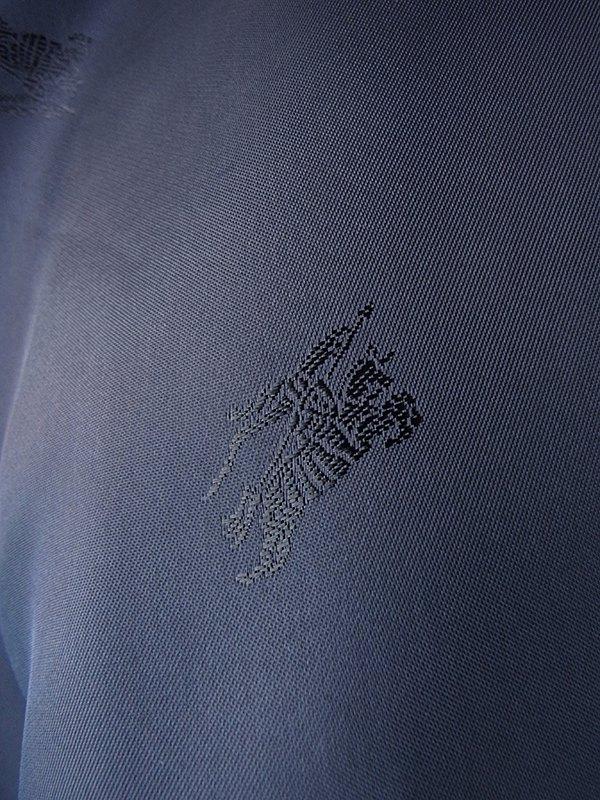 ヨーロッパ古着 ロンドン買い付け Burberry バーバリー ネイビー X 厚手 カシミア混ウール コート 20BS201