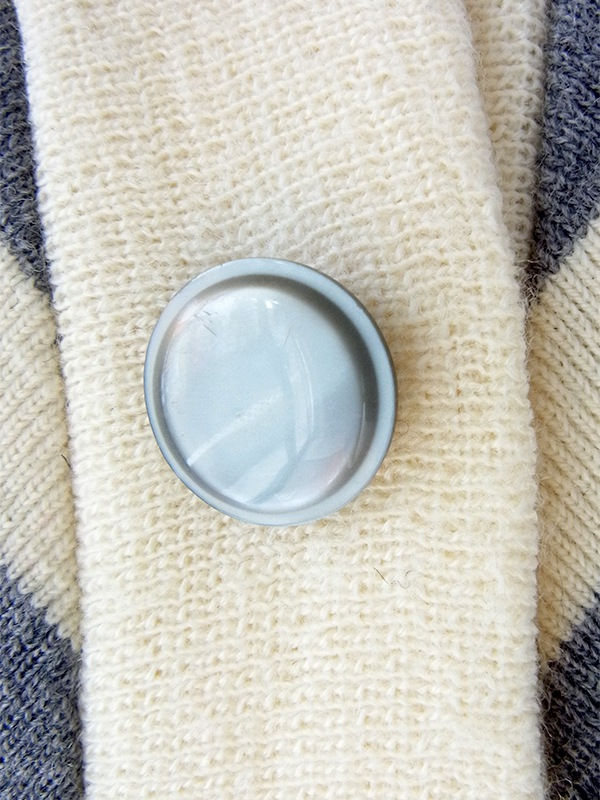 ヨーロッパ古着 ロンドン買い付け 60年代製 グレイ X ホワイト バイアスデザイン ウール ワンピース 20OM408