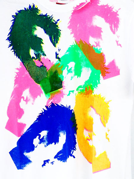 ジョニー・ロットン Fifth Column オフィシャル復刻Tシャツ FIFTH COLUMN T-SHIRTS