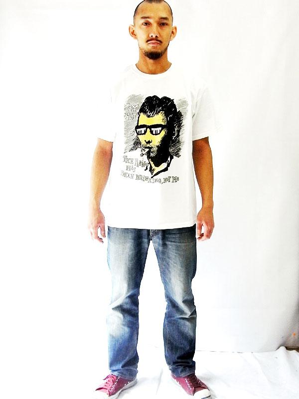 トム・ウェイツ TOM WAITS オフィシャル復刻Tシャツ