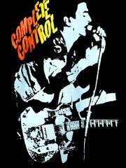 ザ・クラッシュ Complete Control Fifth Column オフィシャル復刻Tシャツ
