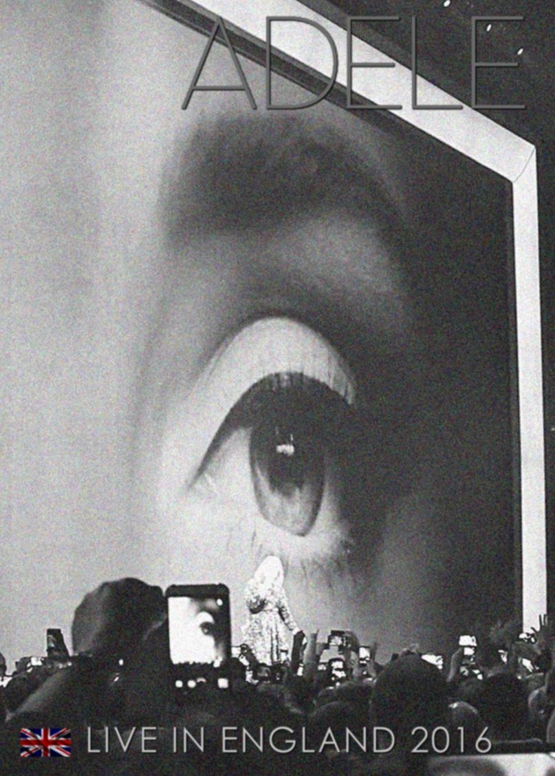 コレクターズBlu-ray  Adele - Live in England 2016