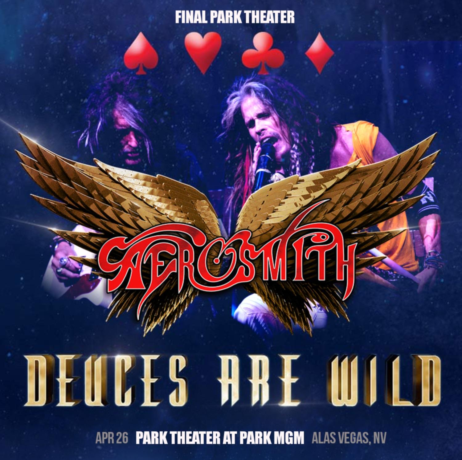 コレクターズCD Aerosmith - Deuces Are Wild Tour 2019
