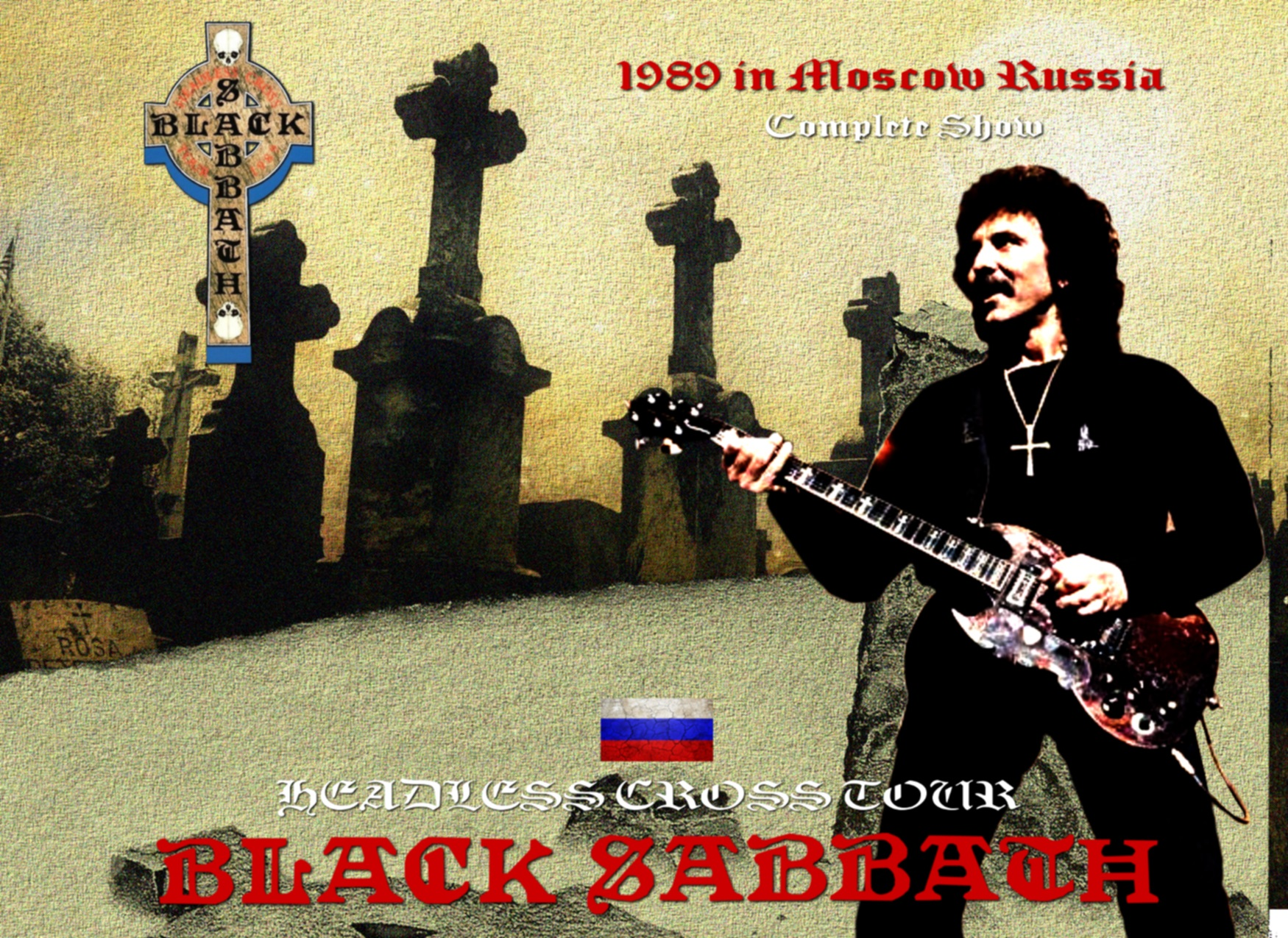 コレクターズCD Black Sabbath - Headless Cross Tour 1989 in Moscow Russia