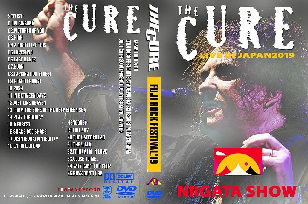 コレクターズDVD The Cure - Japan Tour 2019