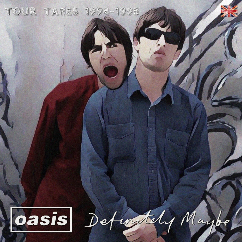 コレクターズCD OASIS - Definitely Maybe Tour tapes 1994&95