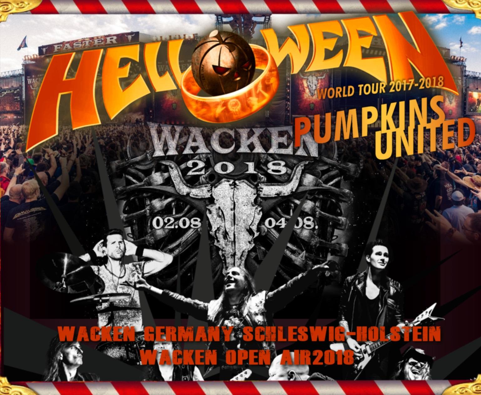 コレクターズCD Helloween - Pumpkins United Jaoan Tour 2018 [Wacken Open Air]