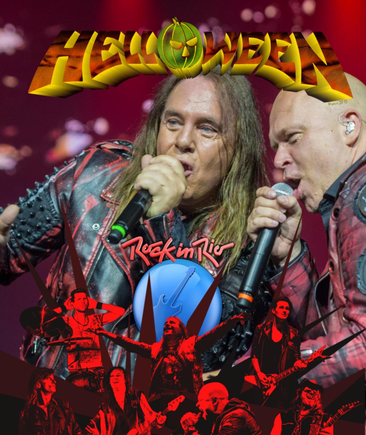 コレクターズBlu-ray Helloween - Rock in Rio2019