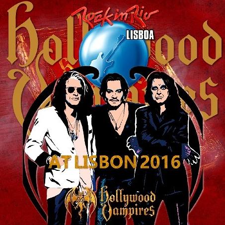 コレクターズCD ハリウッド・ヴァンパイアーズ  Rock in Rio 2016